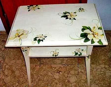 Декупаж на мебели своими руками мастер класс