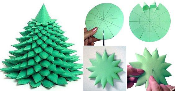 Новогодние игрушки своими руками из цветной бумаги видео