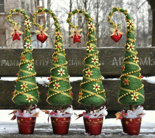 Новогодний елка своими руками мастер класс фото