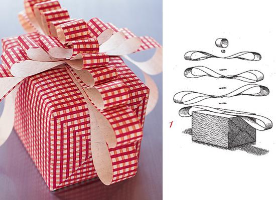 Упаковка подарков бант своими руками